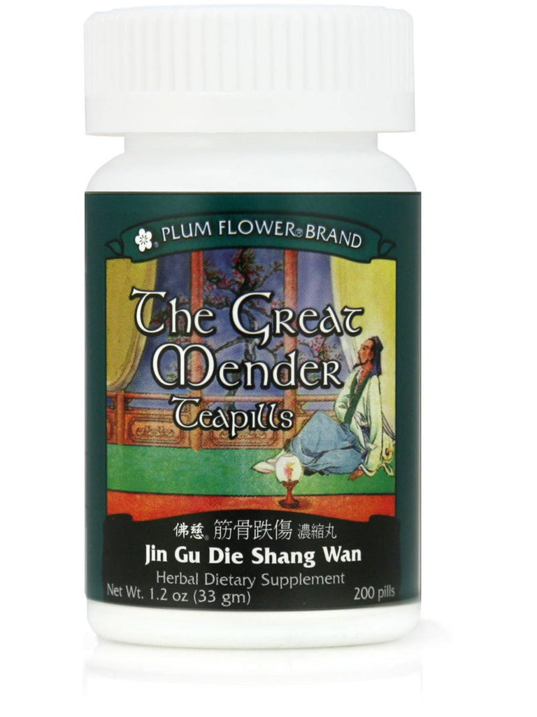 Great Mender, Jin Gu Die Shang Wan, 200 ct, Plum Flower