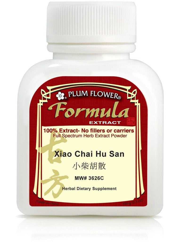 Xiao Chai Hu San, 100 grams extract powder, Plum Flower
