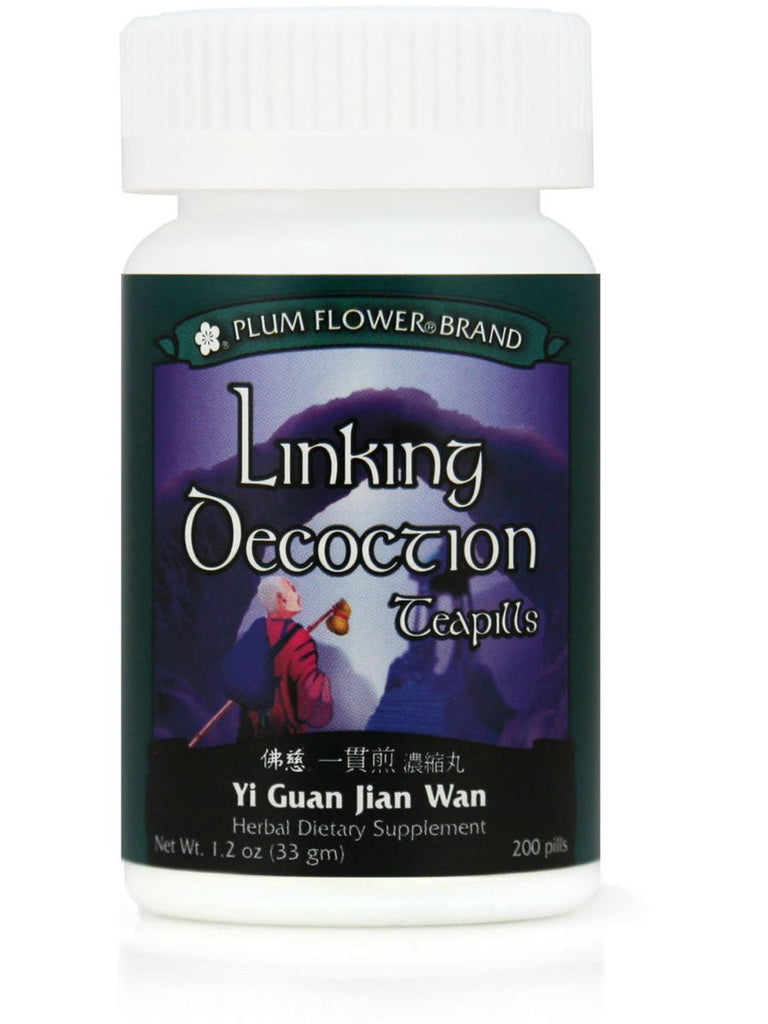 Linking Decoction Formula, Yi Guan Jian Wan, 200 ct, Plum Flower