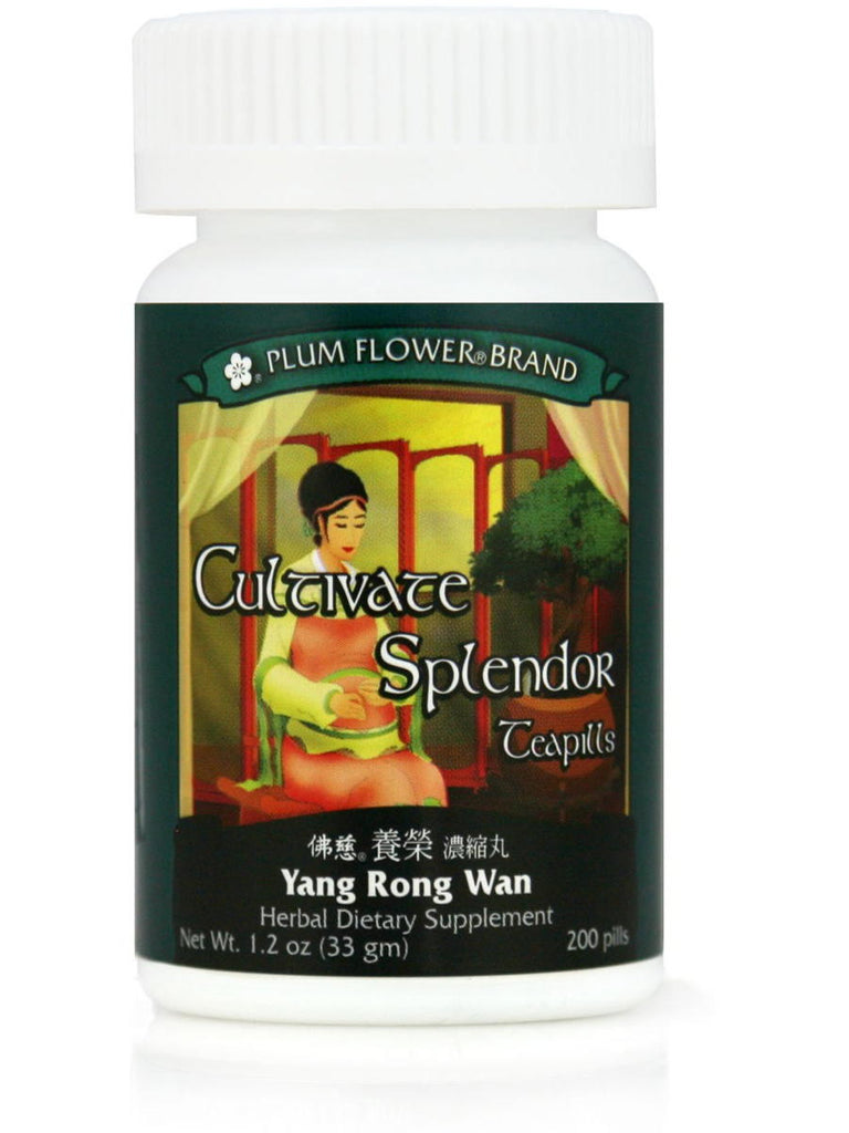 Yang Rong Wan, Cultivate Spendor Formula, 200 ct, Plum Flower
