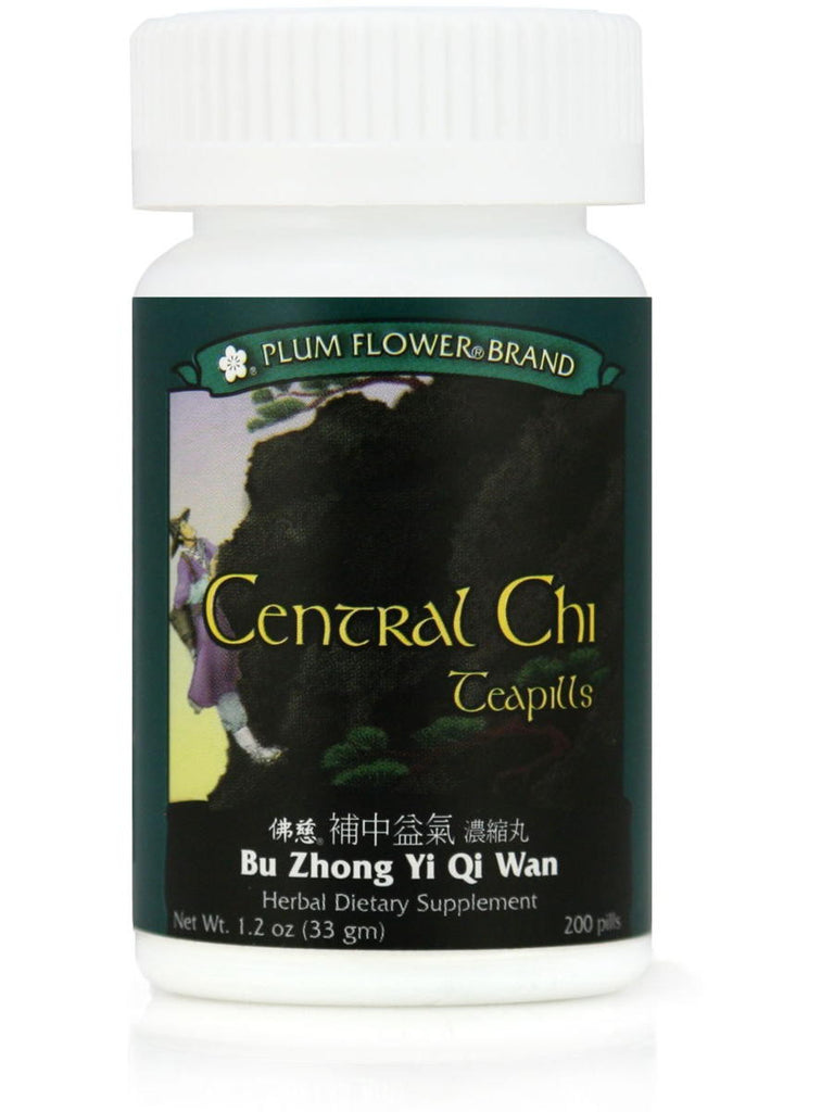 Central Chi, Bu Zhong Yi Qi Wan, 200 ct, Plum Flower