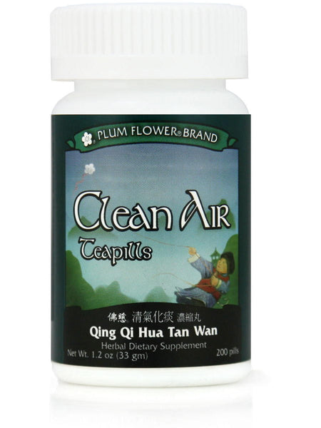 Clean Air Formula, Qing Qi Hua Tan Wan, 200 ct, Plum Flower