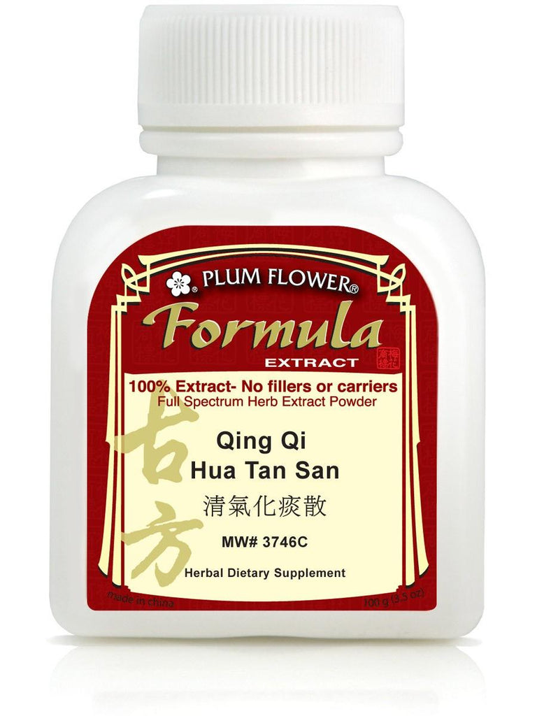 Qing Qi Hua Tan San, 100 grams extract powder, Plum Flower