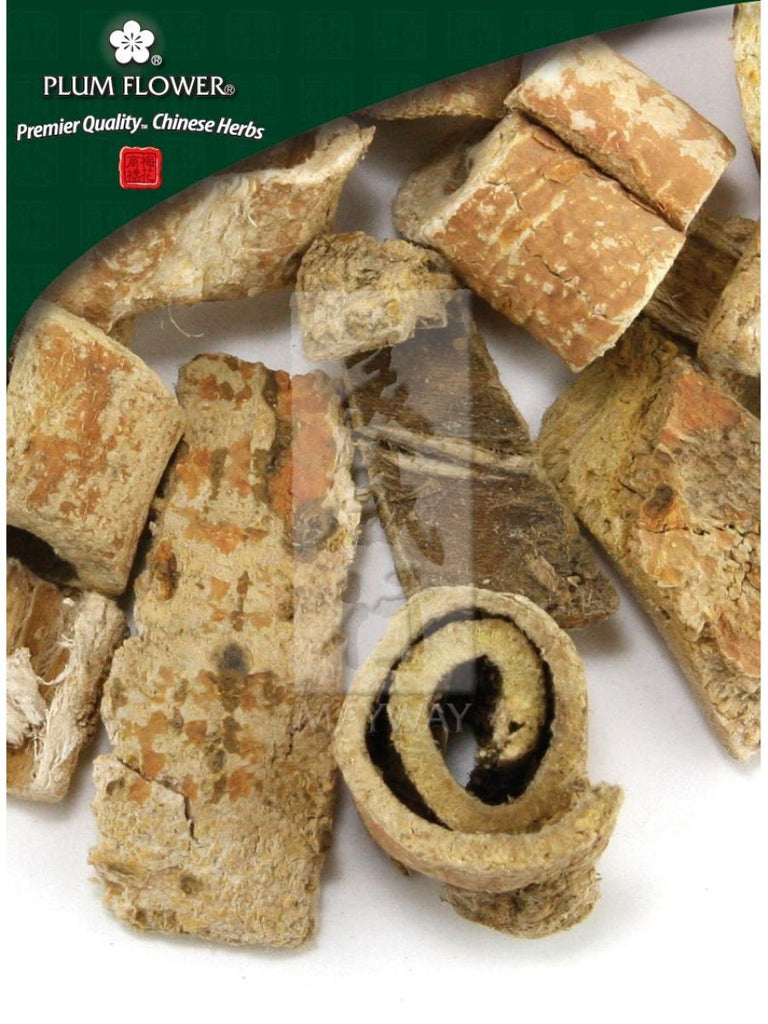 Morus alba root, bark, Whole Herb, 500 grams, Sang Bai Pi