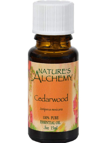 Nature's Alchemy, Cedarwood Essential Oil, 0.5 oz