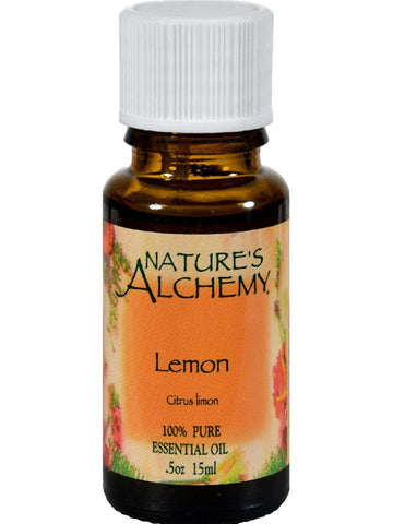 Nature's Alchemy, Lemon Essential Oil, 0.5 oz