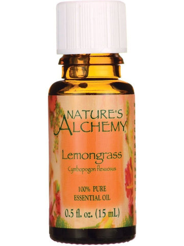 Nature's Alchemy, Lemongrass Essential Oil, 0.5 oz