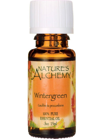 Nature's Alchemy, Wintergreen Essential Oil, 0.5 oz