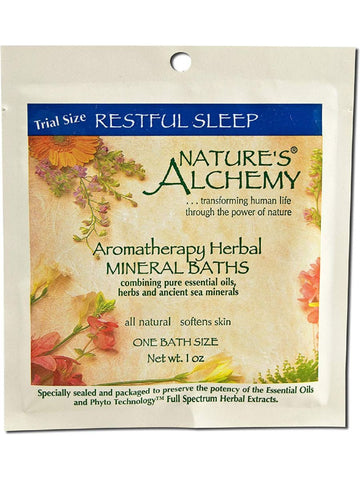 Nature's Alchemy, Restful Sleep Aromatherapy Mineral Bath, 1 oz