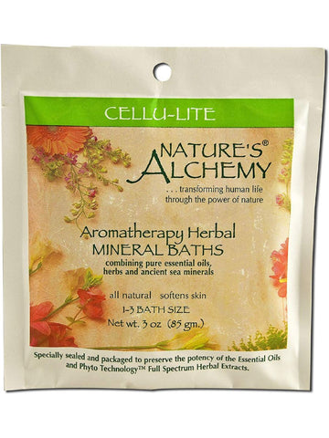 Nature's Alchemy, Cellu-Lite Aromatherapy Mineral Bath, 3 oz