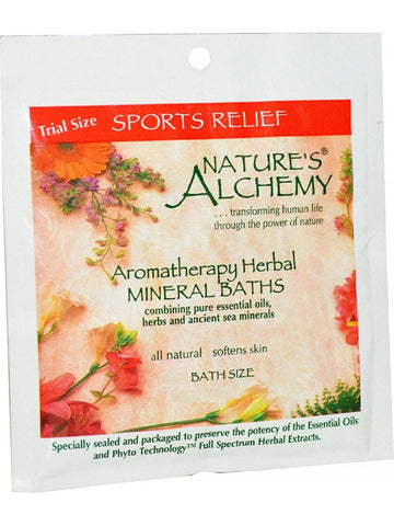 Nature's Alchemy, Sports Relief Aromatherapy Mineral Bath, 3 oz