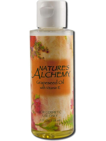 Nature's Alchemy, Grapeseed Carrier Oil, 4 oz