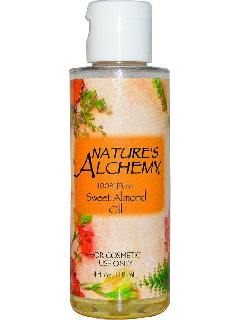 Nature's Alchemy, Sweet Almond Carrier Oil, 4 oz
