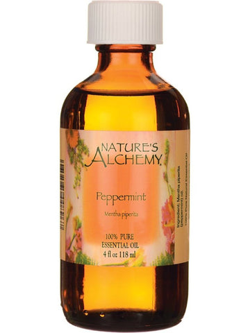 Nature's Alchemy, Peppermint Essential Oil, 4 oz