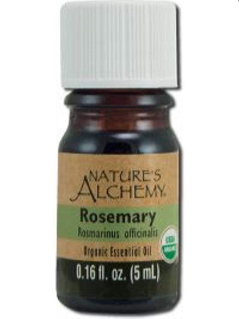 Nature's Alchemy, Rosemary Organic Essential Oil, 5 ml