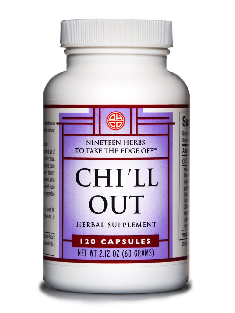 Chi'll Out, 120 caps, Oriental Herb