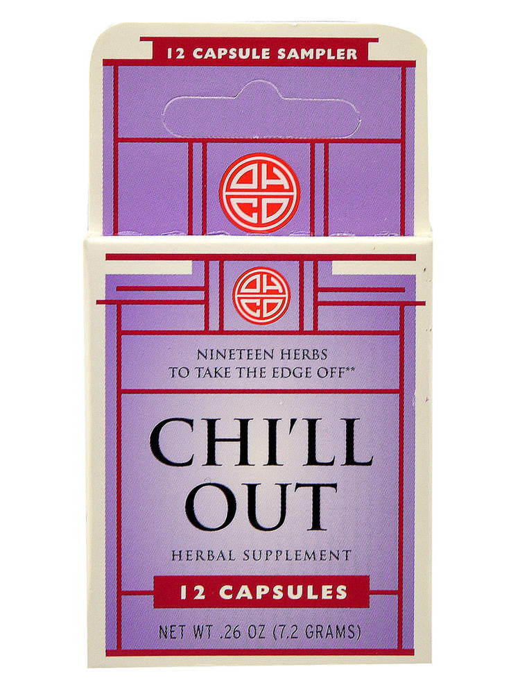 Chi'll Out, 12 caps, Oriental Herb