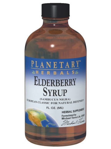 Planetary Herbals, Elderberry Syrup, 8 oz