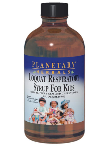 Planetary Herbals, Loquat Respiratory Syrup for Kids, 8 oz