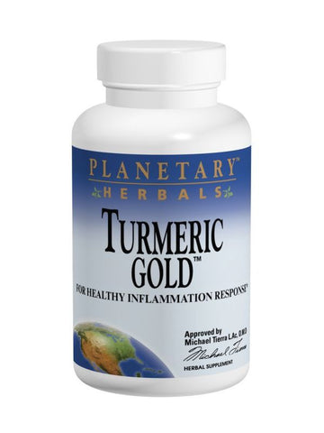 Planetary Herbals, Turmeric Gold 500mg, 30 ct