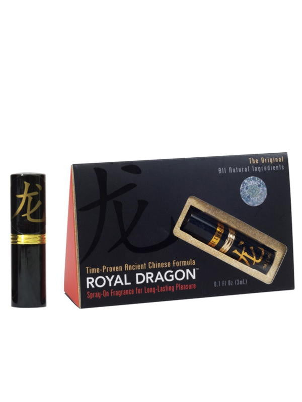 Fragrance for Men, Spray, 0.1 fl oz spray, Royal Dragon Brand