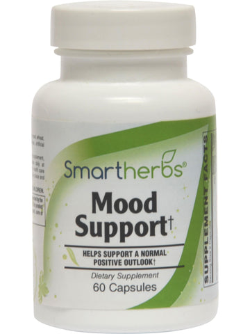 Smart Herbs, Mood Support, 60 caps