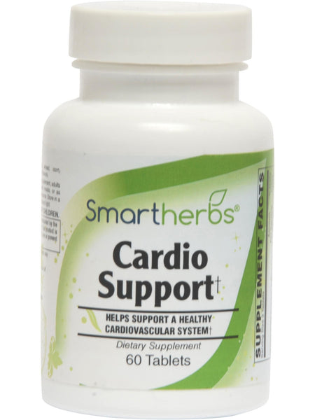 Smart Herbs, Cardio Support, 60 tabs