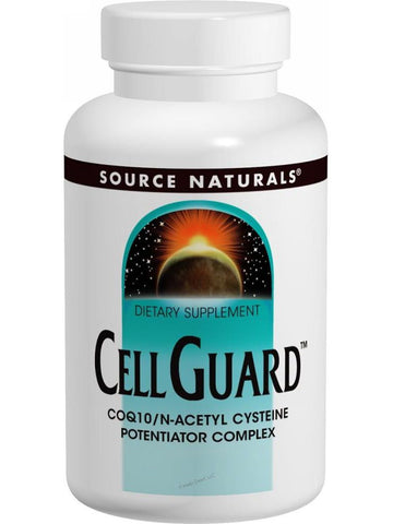 Source Naturals, Cell Guard CoQ10/NAC Complex, 60 ct