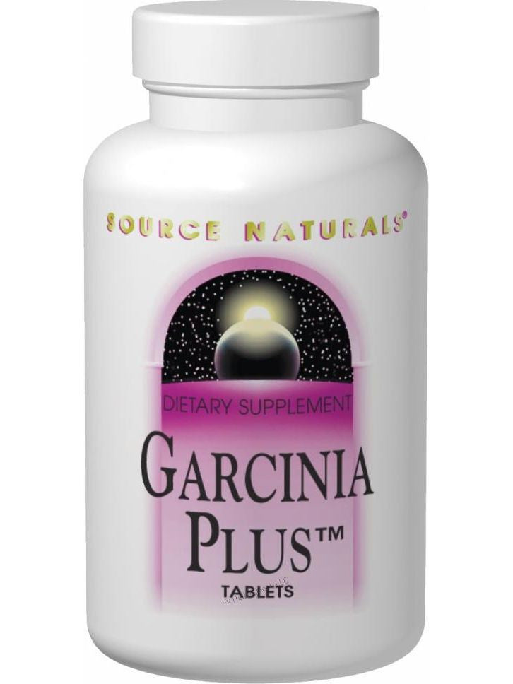 Source Naturals, Garcinia Plus, 60 ct