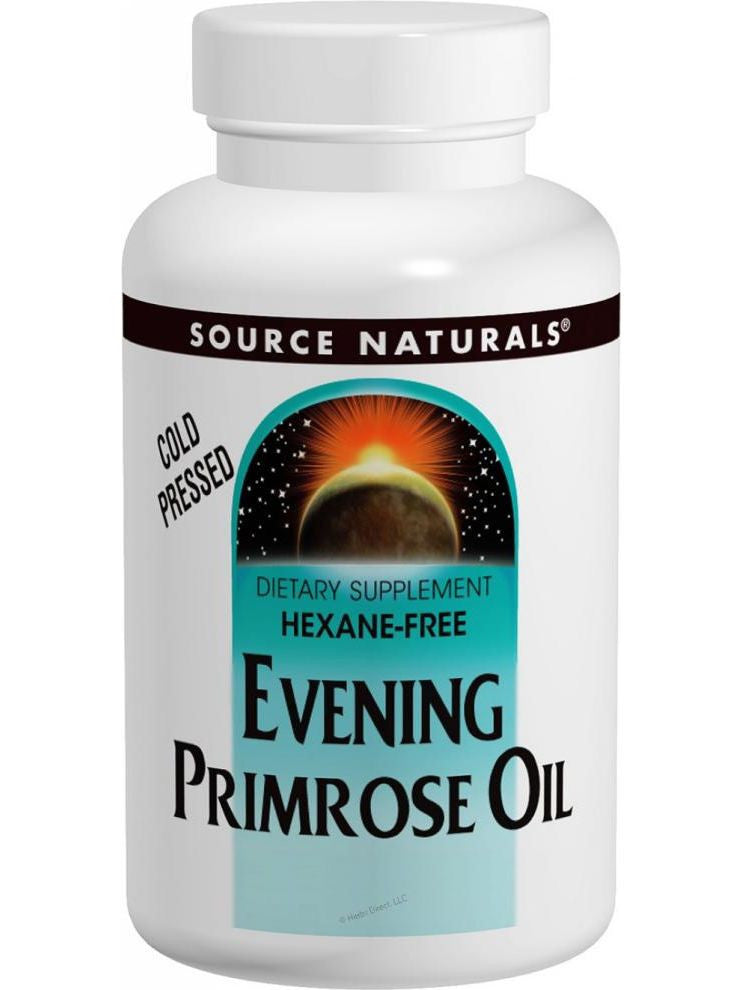 Source Naturals, Evening Primrose Oil, 500mg (50mg GLA), 30 softgels