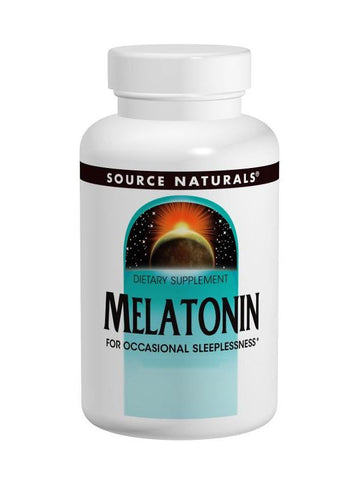 Source Naturals, Melatonin, 1mg Sublingual Peppermint, 300 ct