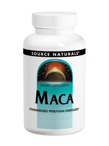 Source Naturals, Maca, 250mg, 60 ct