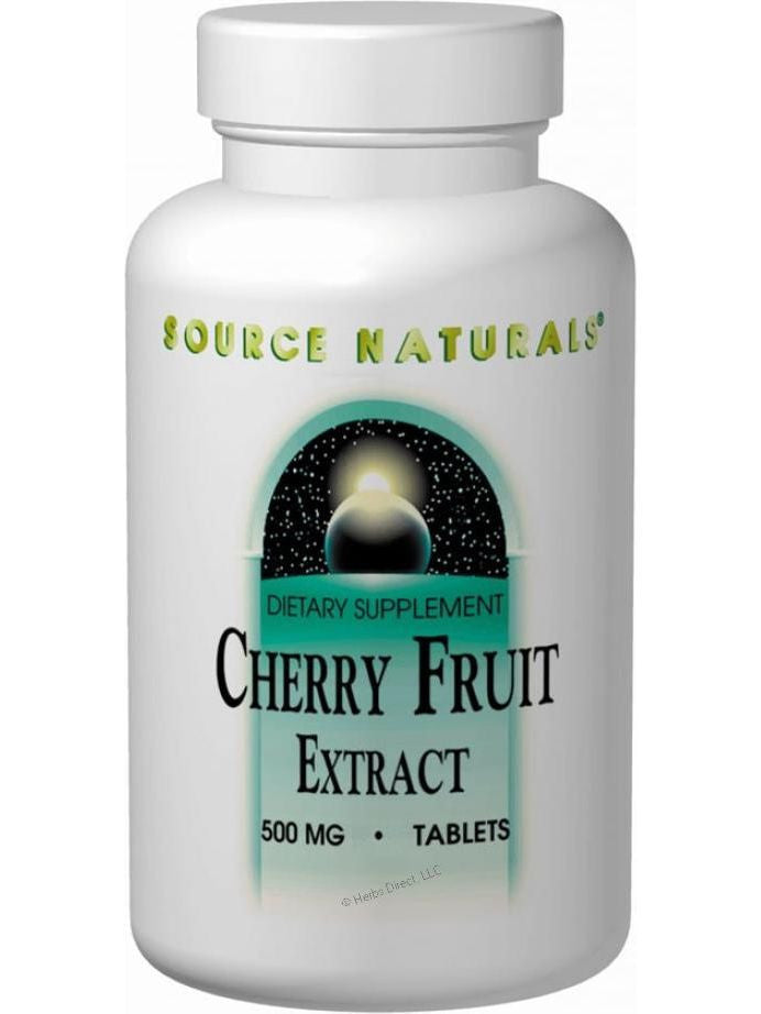 Source Naturals, Cherry Fruit Extract, 500mg, 90 ct