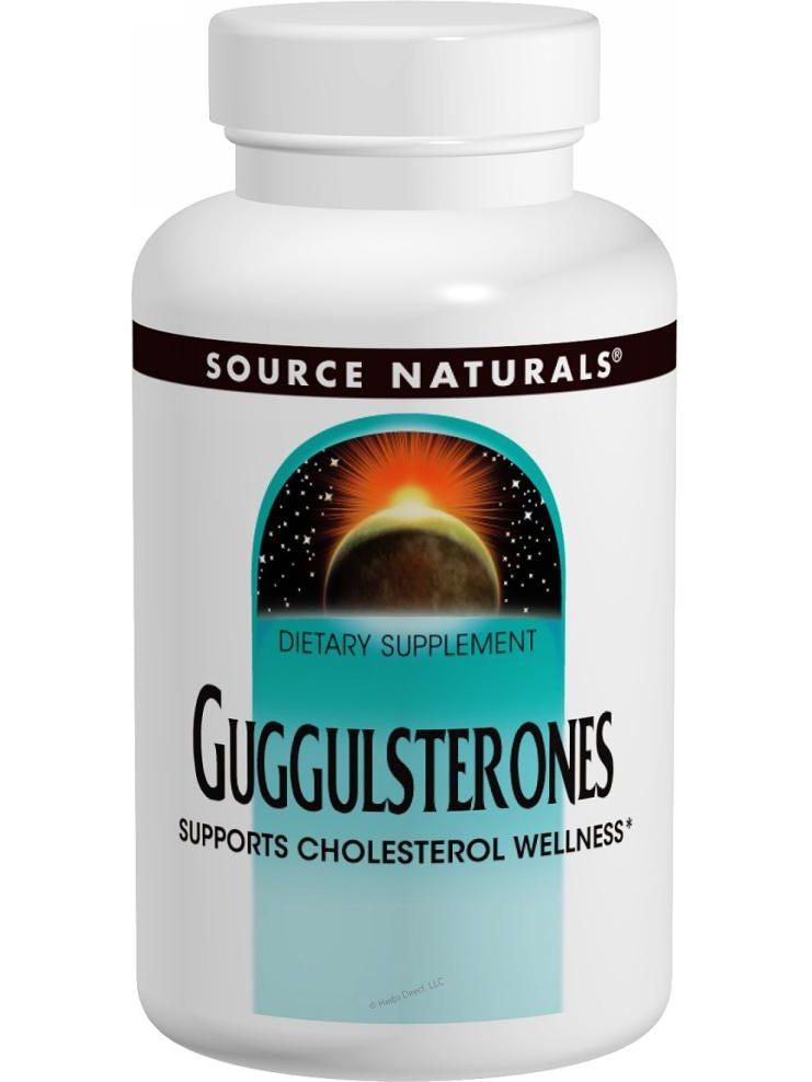 Source Naturals, Guggulsterones, 37.5mg, 120 ct