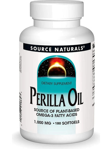 Source Naturals, Perilla Oil, 1000mg, 180 softgels