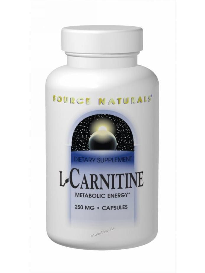 Source Naturals, L-Carnitine (fumarate), 250mg, 60 ct