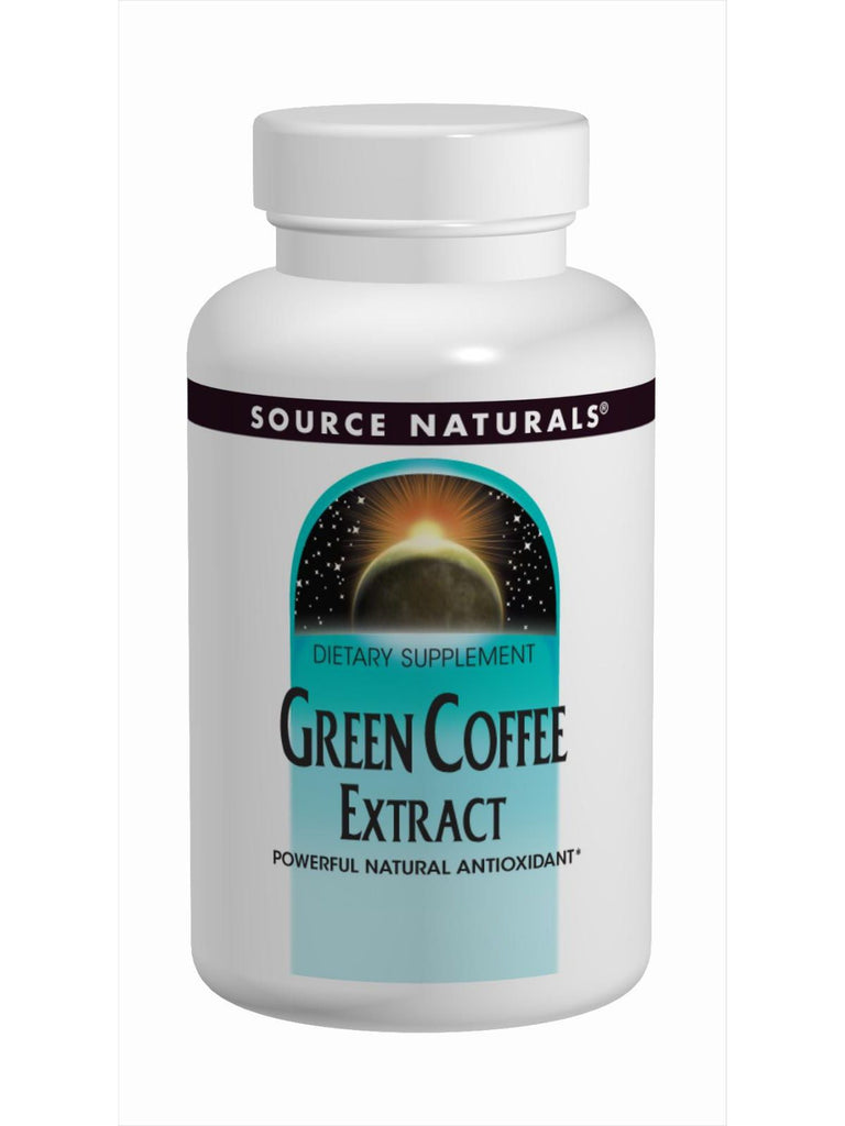 Source Naturals, Green Coffee Extract, 500mg, 120 ct