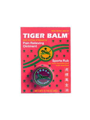 Tiger Balm Red, 0.14 oz, Tiger Balm
