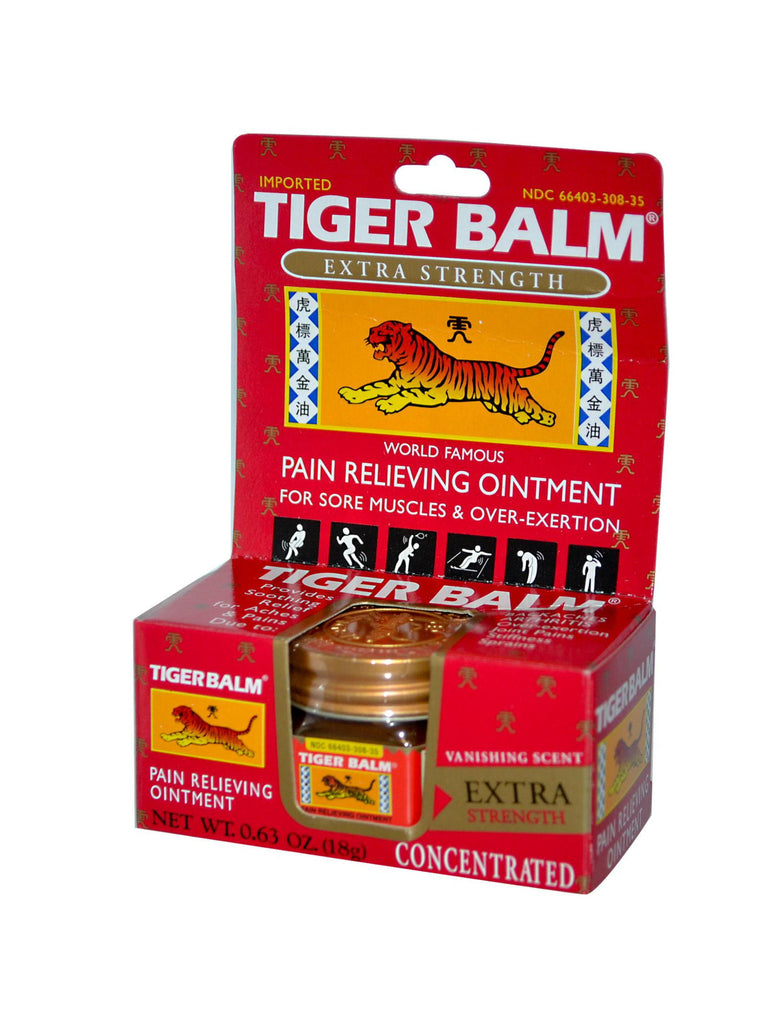Tiger Balm Red X-tra Strength, 0.63 oz, Tiger Balm