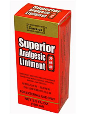 Superior Analgesic Liniment, 3.4 oz, Superior Trading