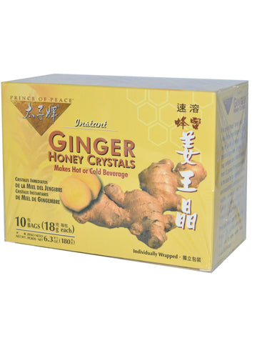 Ginger Honey Crystals, 10 teabags, Prince of Peace