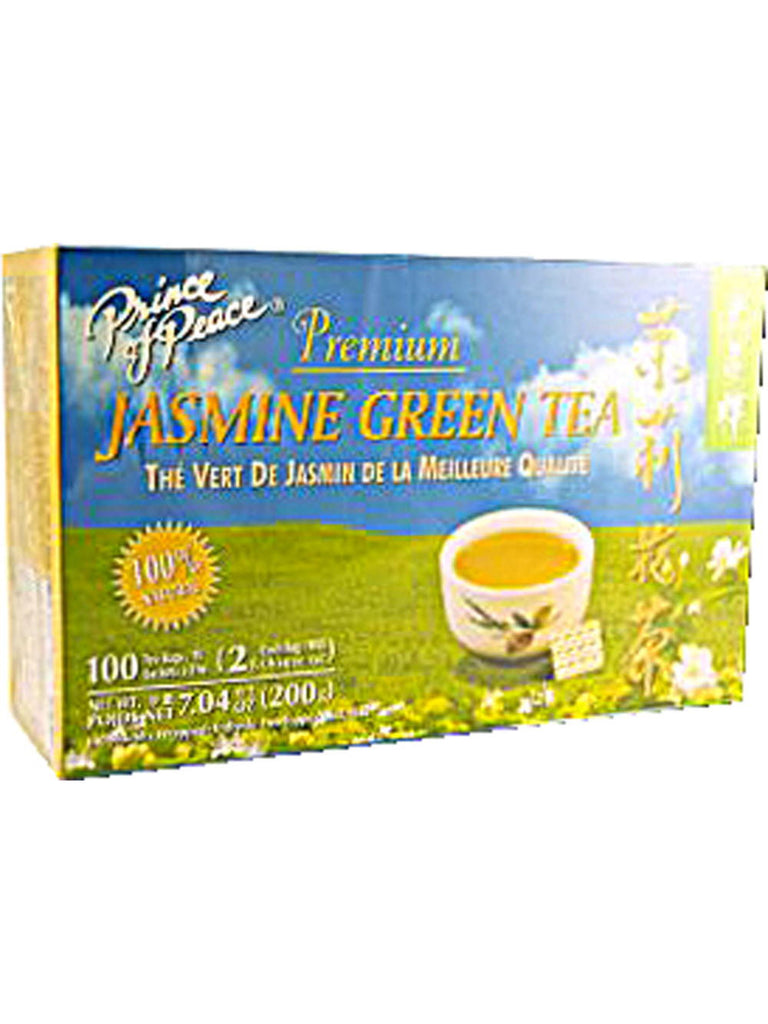 Premium Jasmine Green Tea, 100 teabags, Prince of Peace