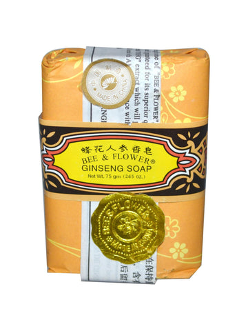 Bar Soap Ginseng, 2.65 oz, Bee & Flower Soap