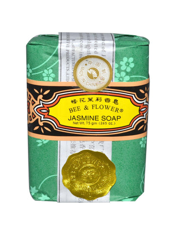 Bar Soap Jasmine, 2.65 oz, Bee & Flower Soap