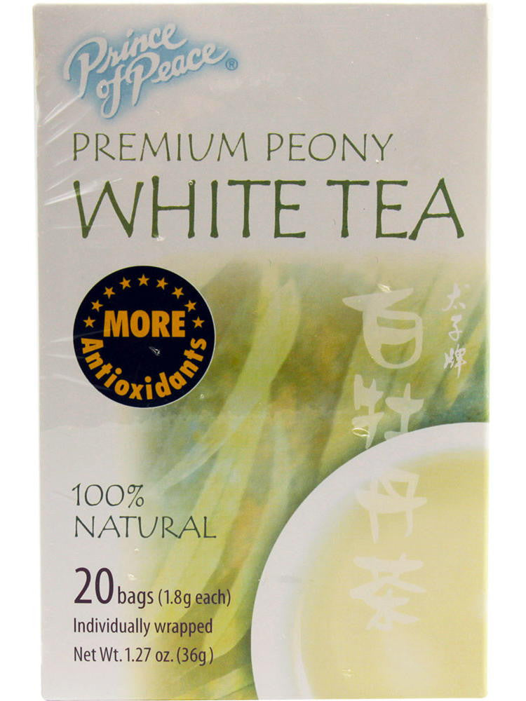 Premium White Tea, 20 teabags, Prince of Peace