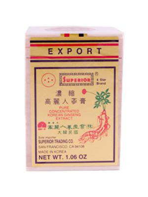 4-Star Brand Concentrated Ginseng Extract, 1.06 oz, Superior Trading