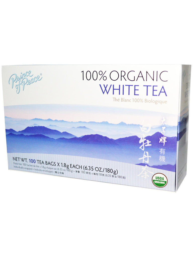 Organic White Tea, 100 teabags, Prince of Peace