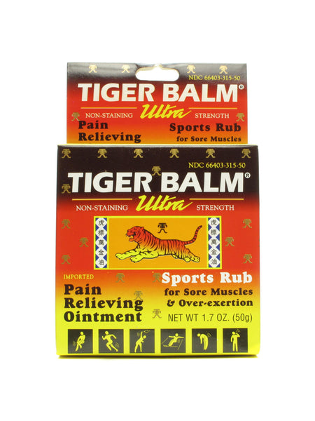 Tiger Balm Ultra Strength 1 7 Oz Chinese Herbs Direct