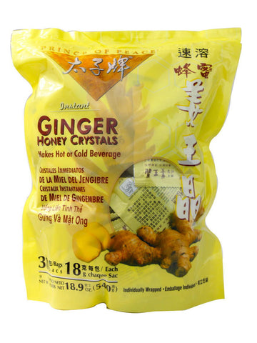Ginger Honey Crystal Packets, 30 ct, Prince of Peace