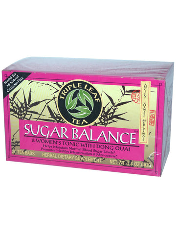 Sugar Balance & Women's Tonic Tea, 20 tea bags, Triple Leaf Tea